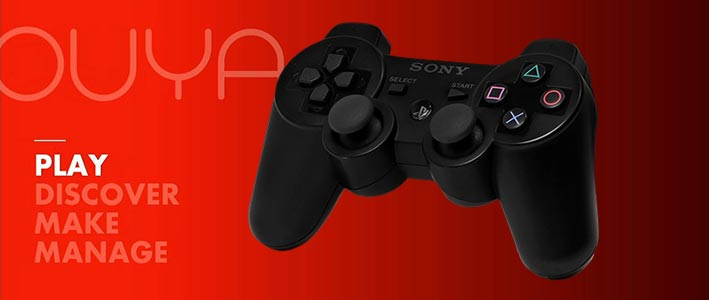 Pairing PS3 controller with OUYA