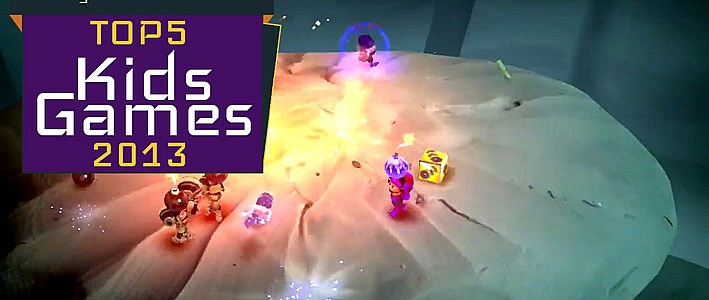 Top5 Games for Kids on the OUYA