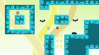 A new tile set for the second world of the game. Not properly implemented into the game yet.